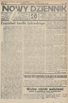 Nowy Dziennik. 1926, nr181