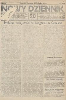 Nowy Dziennik. 1926, nr187