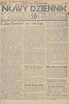 Nowy Dziennik. 1926, nr192