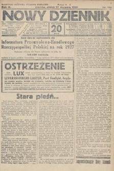 Nowy Dziennik. 1926, nr194