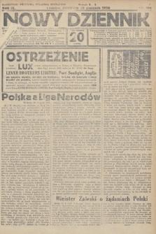 Nowy Dziennik. 1926, nr196