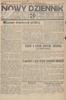 Nowy Dziennik. 1926, nr206