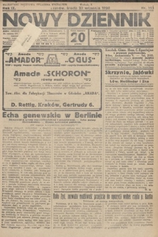 Nowy Dziennik. 1926, nr213