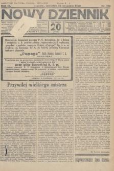 Nowy Dziennik. 1926, nr214