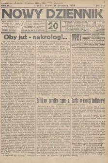Nowy Dziennik. 1926, nr215