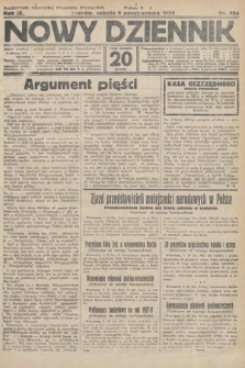 Nowy Dziennik. 1926, nr224