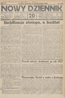 Nowy Dziennik. 1926, nr228