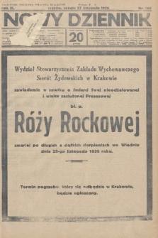 Nowy Dziennik. 1926, nr265