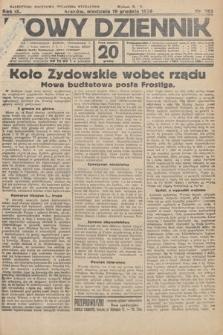 Nowy Dziennik. 1926, nr283