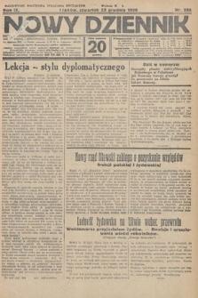 Nowy Dziennik. 1926, nr286