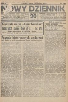 Nowy Dziennik. 1926, nr287