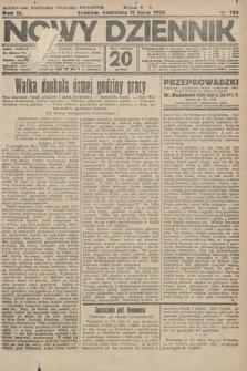 Nowy Dziennik. 1926, nr154