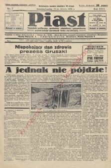 Piast : tygodnik polityczny, społeczny, oświatowyi gospodarczy, poświęcony sprawom ludu polskiego. 1938, nr7