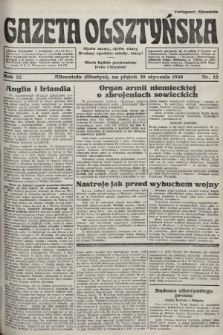 Gazeta Olsztyńska. 1938, nr22