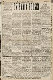 Dziennik Polski. 1895, nr47