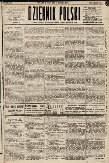 Dziennik Polski. 1895, nr217