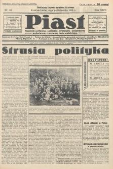 Piast : tygodnik polityczny, społeczny, oświatowyi gospodarczy, poświęcony sprawom ludu polskiego. 1936, nr40