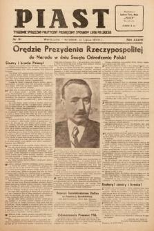 Piast : tygodnik społeczno-polityczny poświęcony sprawom ludu polskiego. 1949, nr31