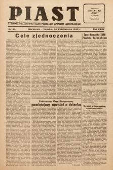 Piast : tygodnik społeczno-polityczny poświęcony sprawom ludu polskiego. 1949, nr44