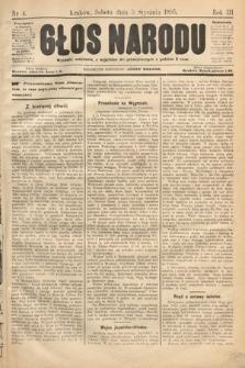 Głos Narodu. 1895, nr4