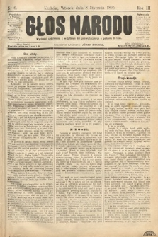 Głos Narodu. 1895, nr6