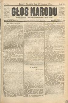 Głos Narodu. 1895, nr17