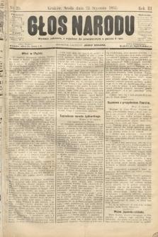 Głos Narodu. 1895, nr19