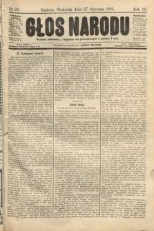 Głos Narodu. 1895, nr23