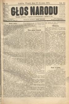 Głos Narodu. 1895, nr24
