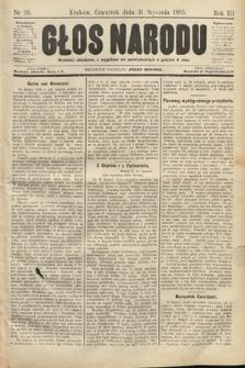 Głos Narodu. 1895, nr26