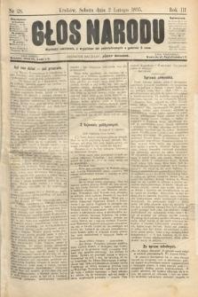 Głos Narodu. 1895, nr28