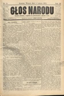 Głos Narodu. 1895, nr29