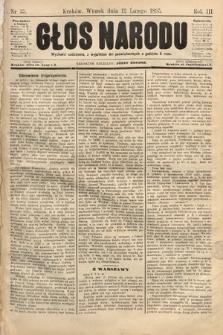 Głos Narodu. 1895, nr35
