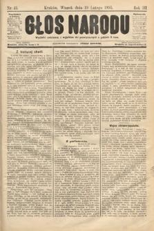 Głos Narodu. 1895, nr41