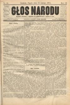 Głos Narodu. 1895, nr44