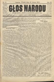 Głos Narodu. 1895, nr47