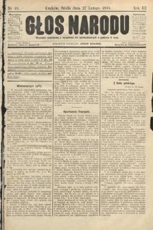 Głos Narodu. 1895, nr48