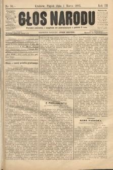 Głos Narodu. 1895, nr50