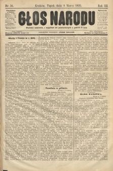 Głos Narodu. 1895, nr56