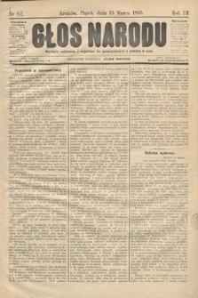 Głos Narodu. 1895, nr62