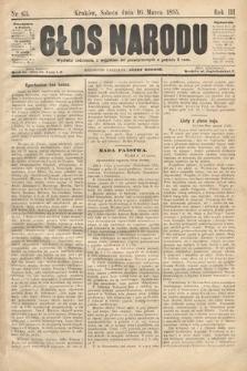 Głos Narodu. 1895, nr63
