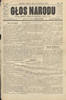 Głos Narodu. 1895, nr80