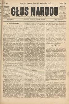 Głos Narodu. 1895, nr86