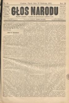 Głos Narodu. 1895, nr96