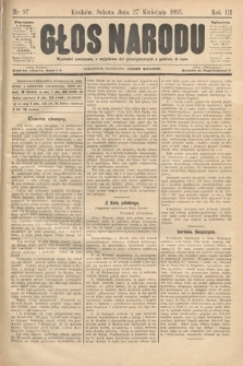 Głos Narodu. 1895, nr97