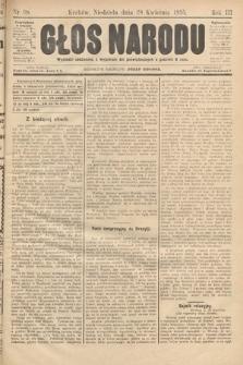 Głos Narodu. 1895, nr98