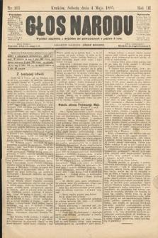 Głos Narodu. 1895, nr103