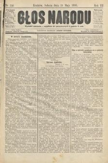 Głos Narodu. 1895, nr114