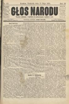 Głos Narodu. 1895, nr115