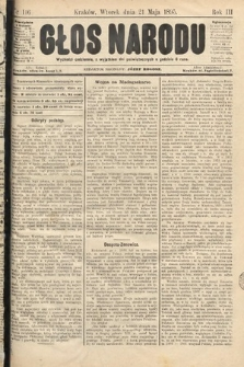 Głos Narodu. 1895, nr116